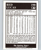 1991 Conlon Collection #190 Red Lucas NM Pittsburgh Pirates