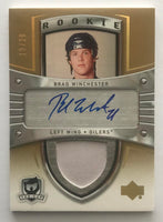 2005-06 The Cup Gold #133 Brad Winchester RC Rookie Auto 19/26 Patch 06941
