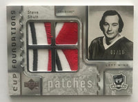 2006-07 The Cup Foundations Patches #CQST Steve Shutt 1/10 Patch 06957