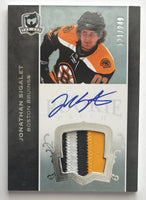 2007-08 The Cup #153 Jonathan Sigalet RC Rookie Auto 121/249 Patch 06964