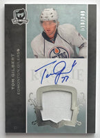 2007-08 The Cup #175 Tom Gilbert RC Rookie Auto 18/249 Patch 06974