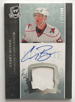 2007-08 The Cup #183 Casey Borer RC Rookie Auto 142/249 Patch 06976