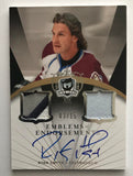 2007-08 The Cup Emblems of Endorsement Ryan Smyth Auto 3/15 Patch 06979
