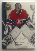 2008-09 Upper Deck The Cup #55 Carey Price 241/249 NHL Hockey 06986