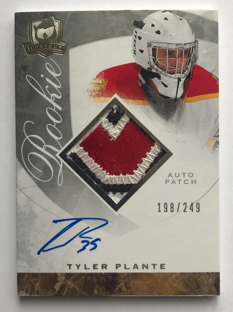 2008-09 The Cup #104 Tyler Plante RC Rookie Auto 198/249 Patch 06990