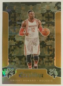 2015-16 Panini Excalibur Crusade #67 Dwight Howard  Rockets 06825