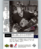 2002-03 UD Mask Collection #119 Lasse Pirjeta RC Rookie 07029