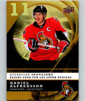 2008-09 Upper Deck McDonald's Superstar Spotlight #IS11 Daniel Alfredsson 07052