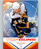 2009-10 Upper Deck Top Guns #TG6 Thomas Vanek Sabres 07055