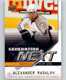 2007-08 Upper Deck Generation Next #GN16 Alexander Radulov 07093