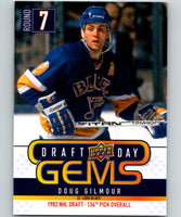 2009-10 Upper Deck Draft Day Gems #GEM21 Doug Gilmour 07094