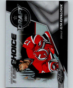 2010-11 Panini Certified Top Choice #9 Ilya Kovalchuk  362/500 07122