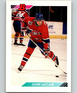 1992-93 Bowman #8 John LeClair MINT 07148