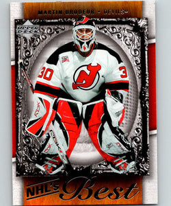 2007-08 Upper Deck NHL's Best #B2 Martin Brodeur New Jersey Devils 07063