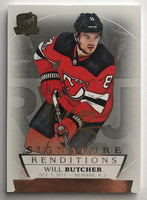 2017-18 The Cup Signature Renditions #SRWB Will Butcher Auto 07262