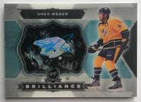 2014-15 Upper Deck The Cup Brilliance Shea Weber Auto 07265