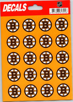 Boston Bruins Vinyl Sticker Sheet 5
