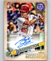 2018 Topps Gypsy Queen Autographs Andrew Stevenson Auto Rookie RC 07400