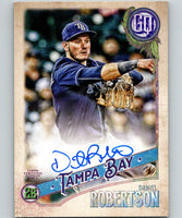 2018 Topps Gypsy Queen Autographs Daniel Robertson Auto Rays 07403