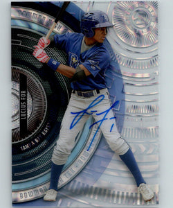 2017 Bowman High Tek Autographs #BHT-LF Lucius Fox MINT Rays 07428