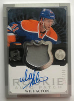 2013-14 Upper Deck The Cup #117 Will Acton Rookie Patch Auto 124/249 RC 07454