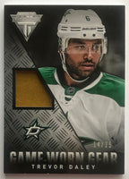 2013-14 Panini Titanium Game Worn Gear Trevor Daley 14/25 Patch 07464