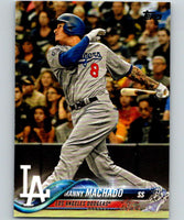 2018 Topps Update #US8 Manny Machado Like New Los Angeles Dodgers