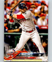 2018 Topps Update #US23 J.D. Martinez Like New Boston Red Sox
