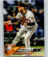 2018 Topps Update #US50 Andrew Cashner Like New Baltimore Orioles