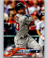 2018 Topps Update #US64 Mookie Betts Like New Boston Red Sox
