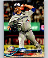 2018 Topps Update #US66 J.A. Happ Like New Toronto Blue Jays