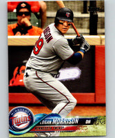 2018 Topps Update #US71 Logan Morrison Like New Minnesota Twins