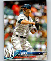 2018 Topps Update #US75 J.A. Happ Like New New York Yankees