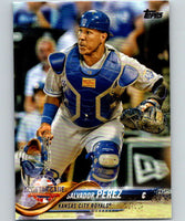 2018 Topps Update #US76 Salvador Perez Like New Kansas City Royals