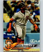 2018 Topps Update #US83 Andrew McCutchen Like New San Francisco Giants