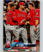 2018 Topps Update #US102 Albert Pujols Like New Los Angeles Angels
