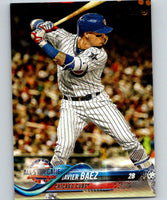 2018 Topps Update #US119 Javier Baez Like New Chicago Cubs