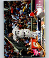 2018 Topps Update #US122 Jesus Aguilar Like New Milwaukee Brewers