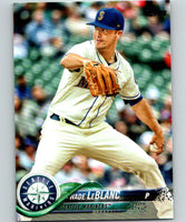 2018 Topps Update #US123 Wade LeBlanc Like New Seattle Mariners
