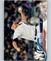 2018 Topps Update #US131 Zach Britton Like New New York Yankees
