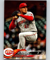 2018 Topps Update #US135 Sal Romano Like New Cincinnati Reds