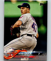 2018 Topps Update #US137 Trevor Bauer Like New Cleveland Indians