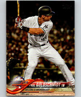 2018 Topps Update #US156 Paul Goldschmidt Like New Arizona Diamondbacks