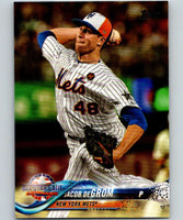 2018 Topps Update #US177 Jacob deGrom Like New New York Mets