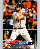 2018 Topps Update #US183 Mitch Moreland Like New Boston Red Sox