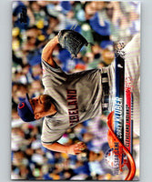 2018 Topps Update #US185 Corey Kluber Like New Cleveland Indians