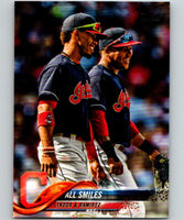 2018 Topps Update #US199 Cleveland Indians Veterans Like New