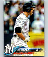 2018 Topps Update #US206 Neil Walker Like New New York Yankees