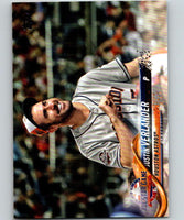 2018 Topps Update #US217 Justin Verlander Like New Houston Astros