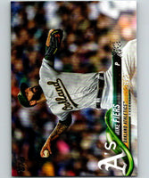 2018 Topps Update #US225 Mike Fiers Like New Oakland Athletics
